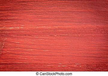 rouges, peint, bois, fond