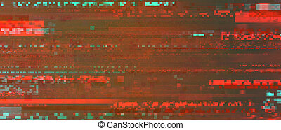 rouges, pixelated, (alert), glitch, couleur d'arrière-plan