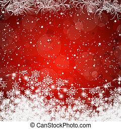 rouges, résumé, beauté, noël, arrière-plan., raster, version