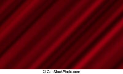 rouges, tordu, ondulé, 4k, résumé, fond