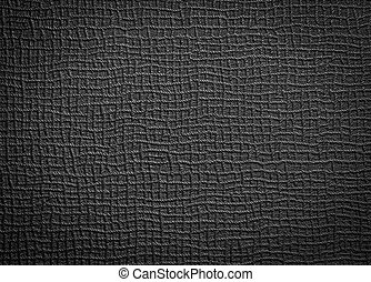 Rough black leather for background