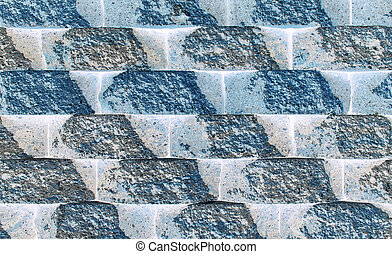 Rough Block Wall Pattern Inverted