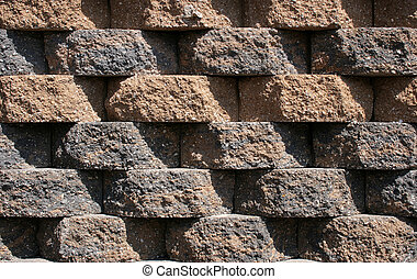 Rough Block Wall Pattern