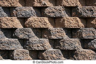 Rough Block Wall Pattern