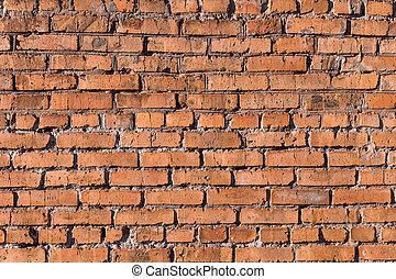 Rough brick wall background