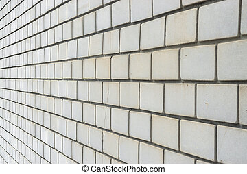 rough brick wall., old concrete block texture background
