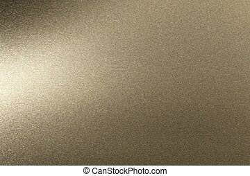 Rough brown metallic sheet, abstract texture background