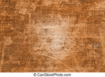Rough Burlap Fabric - Rough burlap fabric weathered with...