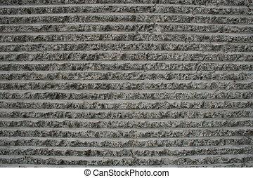 rough concrete stripes background