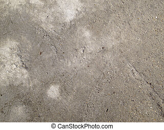 Rough concrete surface
