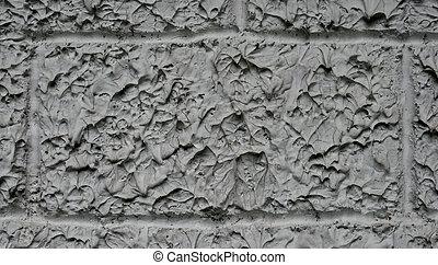 Rough gray concrete wall texture