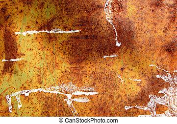 rough metal texture - Rusty metal barrel texture detail....