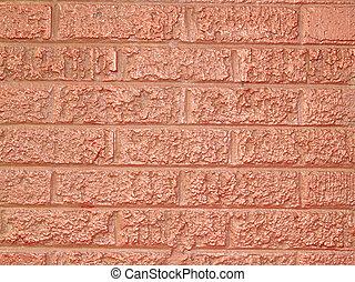 Rough Pink Bricks