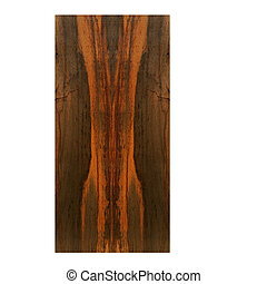 sample of rosewood - rough sample of rosewood from Brazil