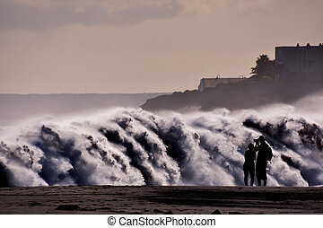 Large Waves Breaking on the Coast