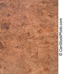 rough, swirled brown bark paper