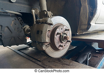 roue tambour moyeu voiture syst me rouill frein photographie de stock rechercher. Black Bedroom Furniture Sets. Home Design Ideas