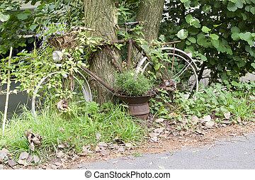 rouillé, vélo