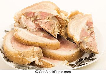Roulade of pork