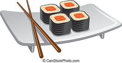 rouleau sushi