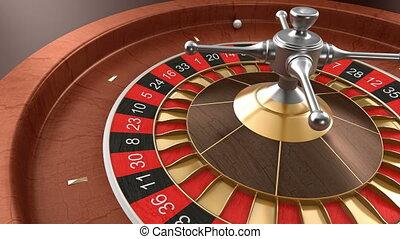 roulett, kasino, schleife