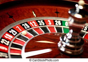 roulett, kasino