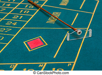 roulett tisch, kasino