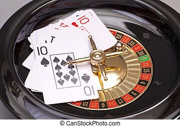 Roulette And Playing Card