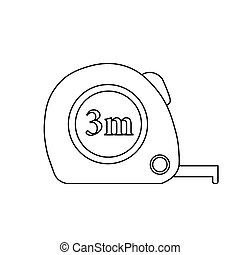 Simple illustration of roulette construction vector icon for web design isolated on white background