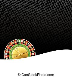 Roulette gambling background