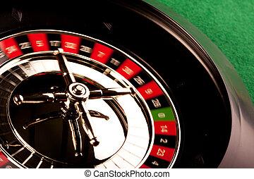 Roulette in casino!