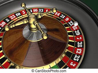 Roulette - 3d render