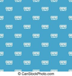 Roulette table pattern vector seamless blue