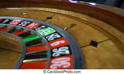 Roulette Wheel, Spinning