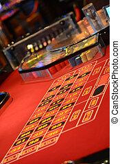 roulettetafel, casino