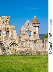roumanie, carta, vieille église, cistercian