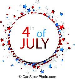 USA Independence Day background.