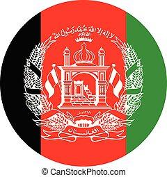 Afganistan flag vector