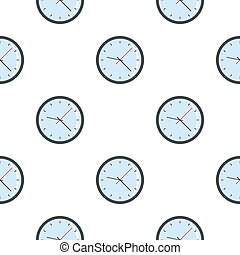 Round analog clock face pattern seamless for any design ...