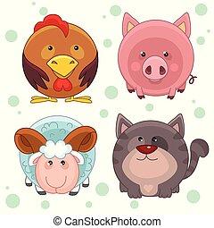 Round animals, part 2.
