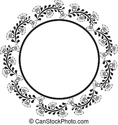round border - round decorative border