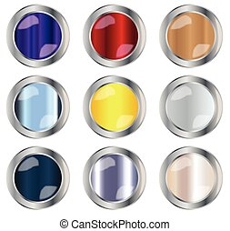 Round Button Collection