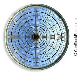 Round ceiling