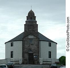 Round Church, Bowmore, Islay - One of 2 round churches in...