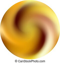 Round colored gradient background.
