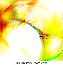 Round dynamic abstract  background