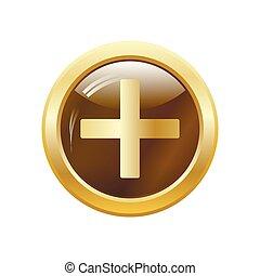 Medical cross. Vector illustration