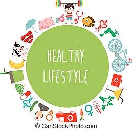 round healthy lifestyle