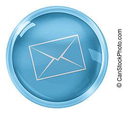 Round Icon Button Symbol