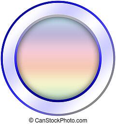 Round icon button template